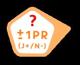 Ja: +1 pR / N: -1 pR